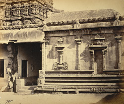 Side entrance to Jalakanteshvara Temple, Vellore 2717